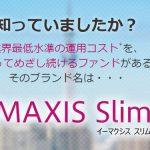 最安のS&P500インデックスファンド!eMAXIS Slim 米国株式(S&P500)の評価と解説